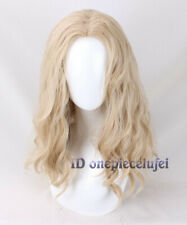 Thor Cosplay Wig Long Curly Soft Wig for Cosplay Costume Party + a wig cap