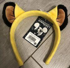 E19 Serre-tête / Headband OREILLES ROI LION / King Lion Ears Disneyland Paris