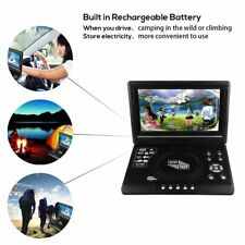 """9.8"""" LCD DVD Player Portable TV Game Player with USB/SD Card Reader With Remote"""