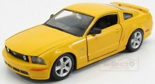Ford Usa Mustang Gt Coupe 2006 Yellow Maisto 1:24 MI31997Y