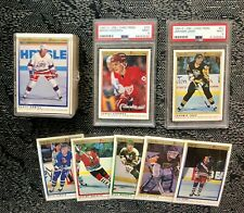 1990 O-Pee-Chee Premier Hockey Complete set with PSA 9 Jagr and Fedorov