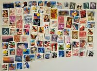 100 Used United States of America (USA) Stamps - All Off Paper - Lot 2