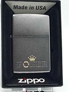 Original Zippo Poker Design - graviert - 2019 -  Neu 60003805