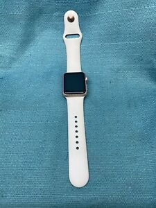 APPLE WATCH 38MM  SERIES 1 ROSE GOLD (FOR PARTS ONLY) READ