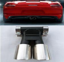 Für Porsche Boxter - Cayman 981 Endrohre Auspuffblende 12-16 GTS Turbo 4S Look N