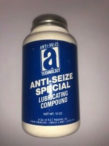 ANTISEIZE SPECIAL10 oz BRUSH TOP Silver or Aluminum color Metal Graphite LOCTITE