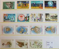 Cocos Keeling – Selection of 6 Sets – 1961-81 – UM (MNH)  (R4)