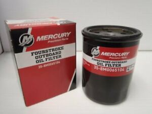 Mercury Marine FourStroke Outboard Oil Filter 38M0065104 8M0065103 35-8M0162829