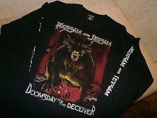 FLOTSAM AND JETSAM shirt METALLICA ANTHRAX VOIVOD SACRED REICH HELLOWEEN SLAYER