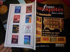 les Styles des Anciennes Commodes par Régions  : Magazine France Antiquité 2003