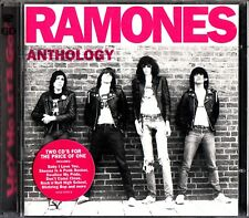 RAMONE - Anthology 2-CD 1999 (Jeffrey Hyman/John Cummings/Marc Bell) ROCK & ROLL