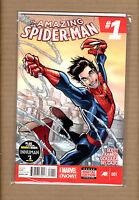 AMAZING SPIDERMAN #1  RAMOS MARVEL COMICS SILK CINDY MOON CAMEO 2014 F/VF