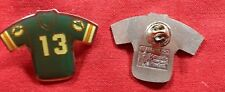 Lot Of 55 Miami Dolphins # 13 Green Football Jersey Lapel Pin Tie Tac Hat Pin