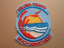 Volusia County Woven Cloth Patch Badge (L1K)
