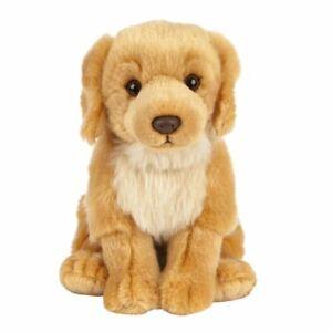 "Golden Retriever Dog soft plush toy 8""/20cm stuffed animal by Living Nature NEW"
