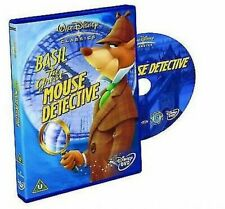 Basil The Great Mouse Detective 5017188885126 With Vincent DVD Region 2
