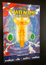 THANOS QUEST #2 (Marvel 1990) -- 2nd Printing -- VF/NM