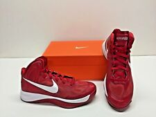 Nike Zoom Hyperfuse TB Basketball Red & White Athletic Sneakers Shoes Mens 15