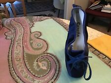 Sansha FR Duval Future pa 111 10 M  Pointe Shoes Special Design Navy Blue