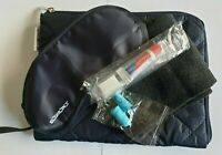 EL AL Airline Business Class Wash Amenity Kit Travel Cosmetics Bag New