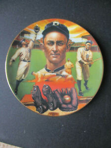 "TY COBB SPORTS IMPRESSIONS MINI PLATE 4 1/4"" DETROIT TIGERS"