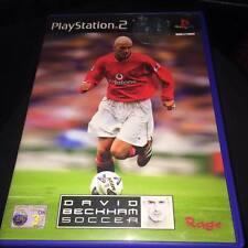 David Beckham Soccer (ps2) Playstation 2 (seltene Frontabdeckung)