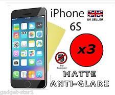 "3x HQ MATTE ANTI GLARE SCREEN PROTECTOR COVER GUARD FILM APPLE IPHONE 6S 4.7"""