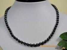 Behandelte Echtschmuck-Halsketten Hämatit