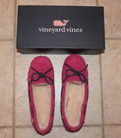 NIB Vineyard Vines Womens Size 10 Rhododendron Holiday Slippers