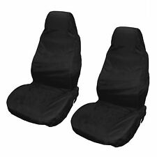 Black/Grey Front Pair of Car Seat Covers for VW Volkswagen Golf All Models