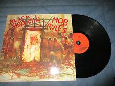Black Sabbath Mob Rules LP