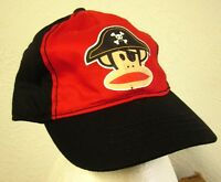 PAUL FRANK youth baseball hat JULIUS monkey cap Pirate fashion buccaneer NWT
