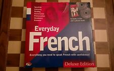 Everyday French Deluxe Edition by GSP includes 2 x CDs + Phrase Book