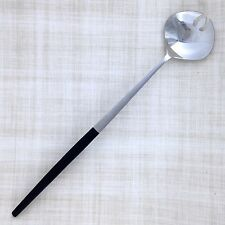 """Epic Forged Stainless EPS20 Salad Server Tong 12-½"""" Black Handle Mid Century Mod"""