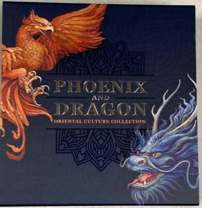 NEW 2021 PHOENIX & DRAGON GHANA 50g SILVER 1ST IN SERIES COIN READY TO SHIP!