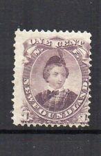 Canada - Newfoundland  1868 1c dull purple Type 1 MLH