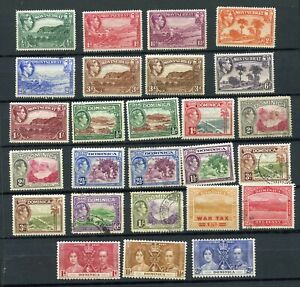 Postage Stamps Dominica and Montserrat to 1953