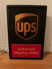 UPS AUTHORIZED DEALER Lighted Sign