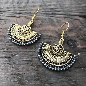 'Ethnic Vibes'  Oriental Mandala Design Earrings