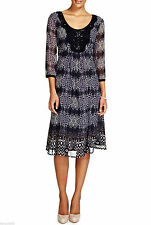 Per Una Round Neck 3/4 Sleeve Dresses for Women