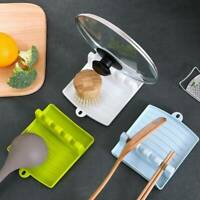 Kitchen Heat Resistant Silicone Spoon Cooking Utensil Spatula Holder Tool  Nice