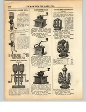 1928 PAPER AD Parker Coffee Spice Mill Grinder #800 #700 #900 #5000 #3000