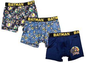 LEGO BATMAN & JOKER DC COMICS 3-Pack Boxer Briefs Underwear NWT Boys Sz. 4-8 $20