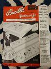 Antique Bucilla Christmas Tablecloth Kit