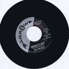 THE RECALLS - NOBODY'S GUY / RESSIE - MONSTER ROCKABILLY JIVERS - REPRO