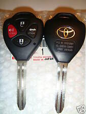 2007 2008 2009 TOYOTA CAMRY  REMOTE KEY UNCUT NEW