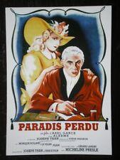 POSTCARD  FILM POSTER - 'PARADIS PERDU'