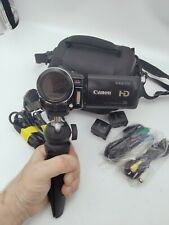 Canon Hf10 16Gb Flash Media Digital Camcorder with all accs Amazing Quality Vlog