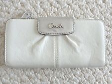 Coach Ladies Leather Credit Card/Check Book Organizer Wallet (#2918)