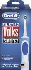 Braun Oral-B Volkszahnbürste Einstieg Elektrozahnbürste in blau/weiß, neu/OVP